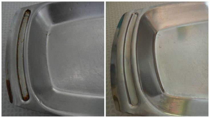 Как отмыть жир на металлической посуде. Сегодня я решила попробовать омыть старенький металлический поднос. Я думала что Loc для металлической посуды справится с этой задачей, но тут понадобились средства по сильнее.. И я взяла средство для чистки духовок от Amway. Справилось на ура! Я наносила два раза, на пол часа. Там где не было толстого слоя, жир ушел быстро, а в тех местах где уже успел наслоится, пришлось процедуру повторить. #очистительдлядуховок #какочиститьжир #уборкадом