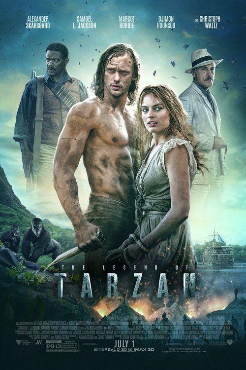 The Legend of Tarzan (2016) Scarsgard . Jackson . Robbie