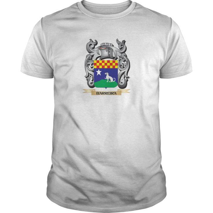 Barreira family crest - barreira coat of a light barreira family crest - barreira coat of a - tshirt - Tshirt