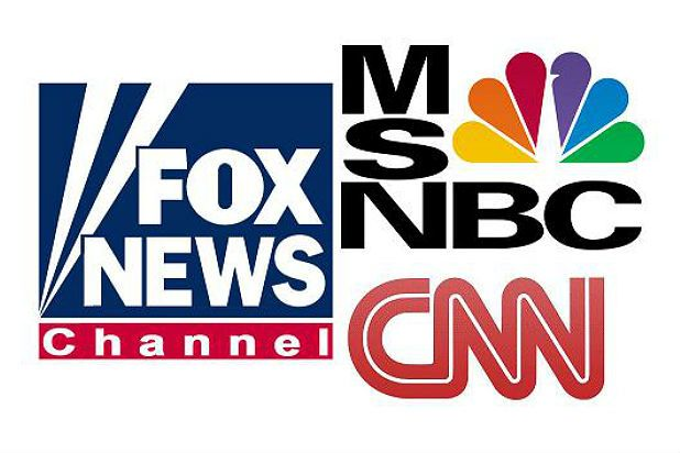 Fox News beat CNN and MSNBC combined in primetime -- where MSNBC beat CNN for the third consecutive week.