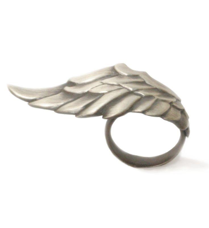 Valkyrie Wing Ring by Natasha Wozniak