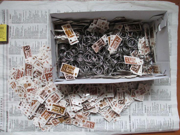 Брелок из банкнот СССР 10 и 25 руб, сделай сам. (5/6) Для тех, кто умеет или хочет научиться делать самому полезные вещи своими руками, которые качеством не будут уступать промышленным. Фурнитура и заготовки для брелков, различные кольца для ключей,дырокол, смотрите фотографии (подробнее фото здесь https://fotki.yandex.ru/users/d-maksimau2013/album/1456302/ ).