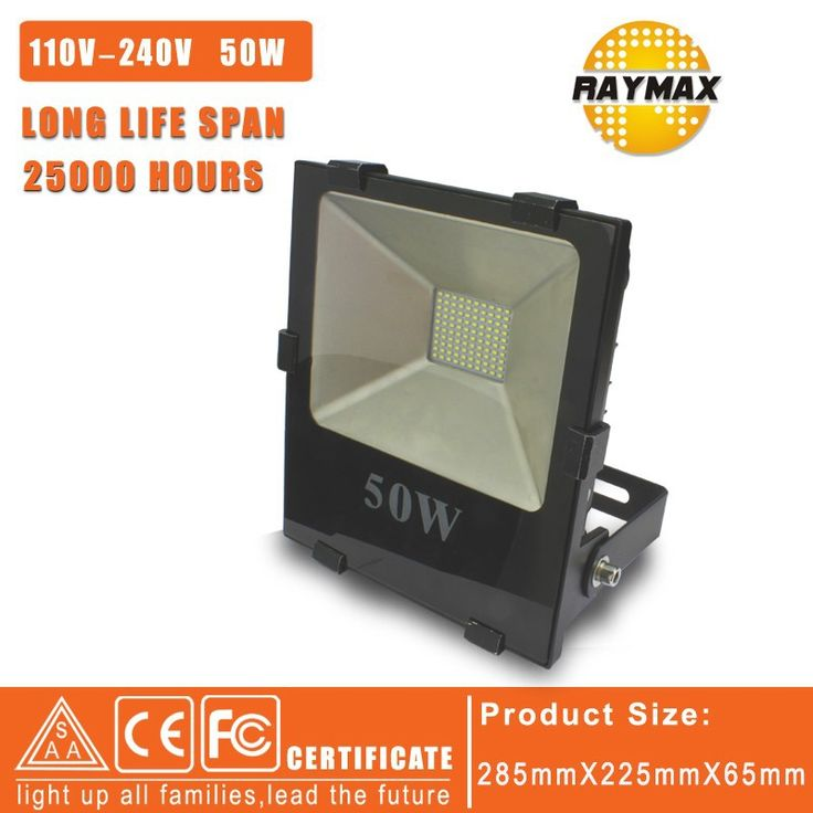 Реклама Лампа привело проектор свет 50 Вт 220 В Ландшафтное Освещение лампы IP65 СВЕТОДИОДНЫЙ Прожектор 50 Вт высокой мощности пролить свет 2 шт./лот