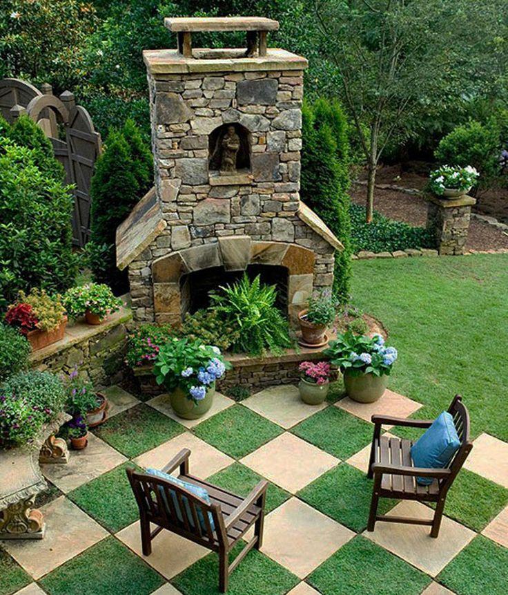 29 besten Backyard Bilder auf Pinterest Terrasse Ideen, Gärten und - garten selbst gestalten tipps