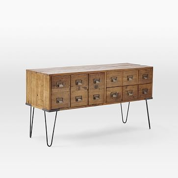 Librarian Media Console #westelm