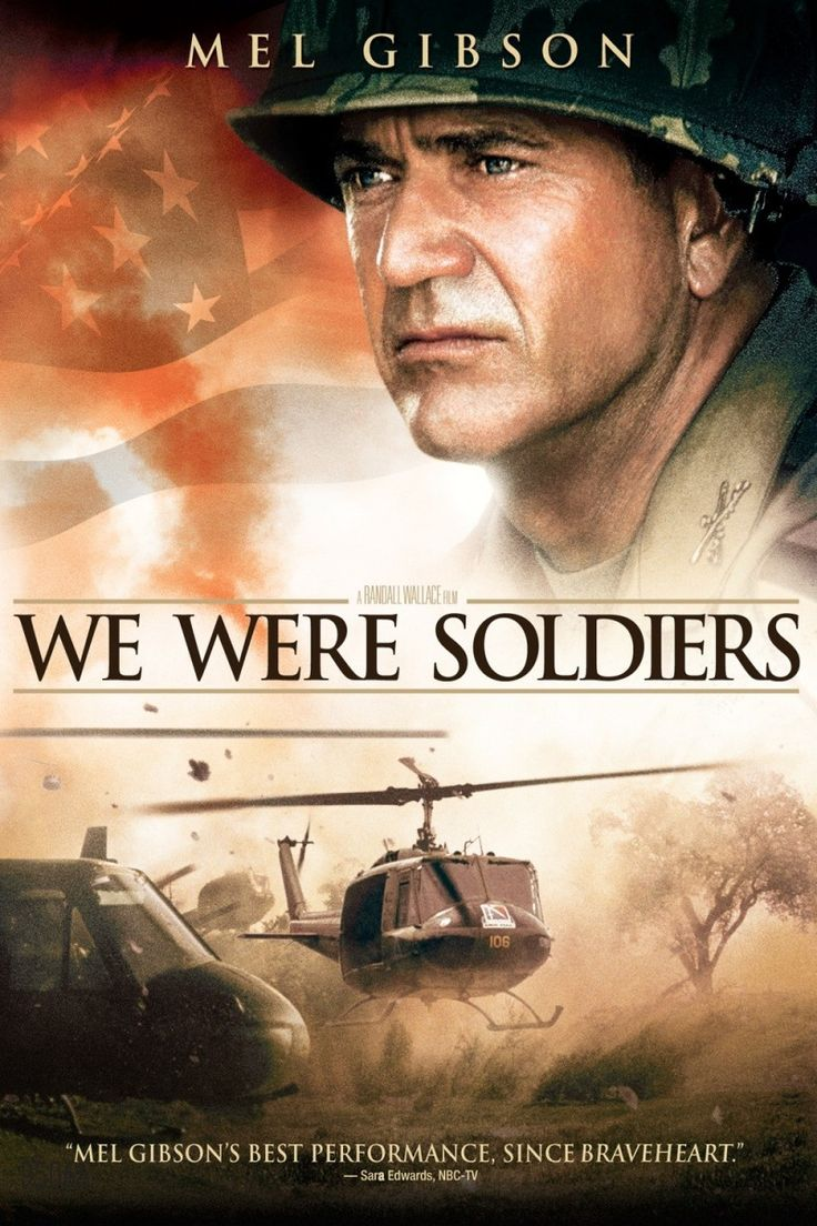 """We Were Soldiers - Lt. Col. Hal Moore is the commander of the First Battalion, Seventh Cavalry. As part of the Pleiku Campaign of late 1965, Moore is assigned to action at Landing Zone X-Ray in the Ia Drang Valley, an area known to be overrun by North Vietnamese troops and nicknamed """"The Valley of Death."""" Moore soon finds himself and his men contained to an area about the size of a football field, surrounded by more than 2,000 enemy troops and engaged in the first major battle of the war."""
