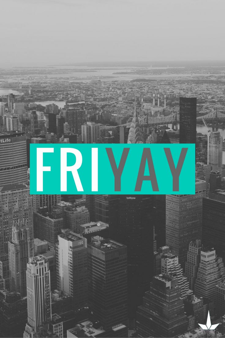 Who loves Fridays! The best day of the week.  #FriYAY #Friday #Weekend #CantWait