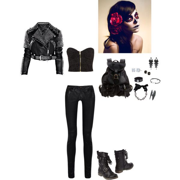 28 best images about Rebel Outfits on Pinterest | Rocks Cutout dress and Studs