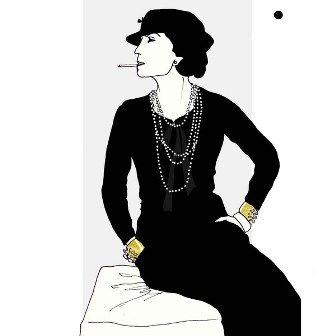 Citation inspirante et personne influente : Coco Chanel « La mode se démode, le style jamais.» « Si une femme est mal habillée, on remarque sa robe, mais si elle est impeccablement vêtue c'est elle que l'on remarque. » « Le luxe, ce n'est pas le contraire de la pauvreté mais celui de la vulgarité.»