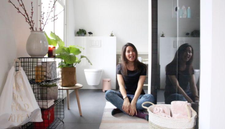 Zo maak ik mijn badkamer een stuk gezelliger...   Beeld © Elisah Jacobs/InteriorJunkie.com #badkamer #badkamerstyling
