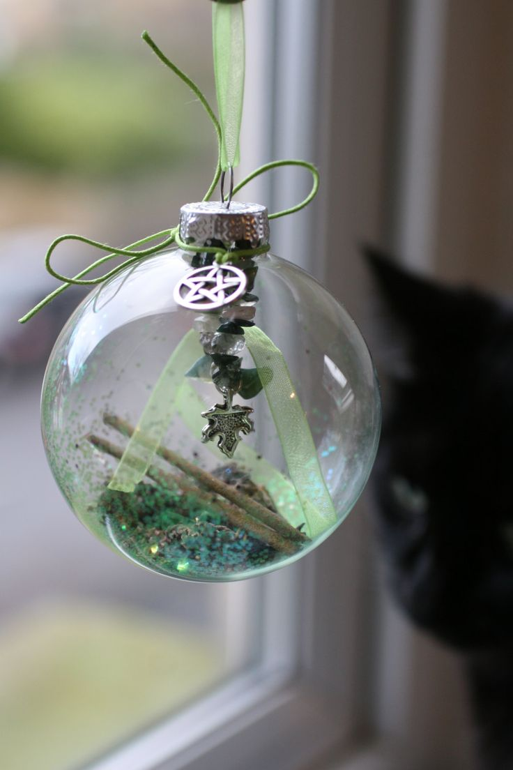 Ancestor to the christmas ball, the witch globe is a very old protective…
