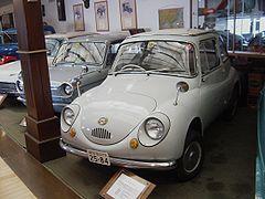 Japan's Origin Kei car ( Light Mini Vehicle ) 1958 SUBARU 360cc