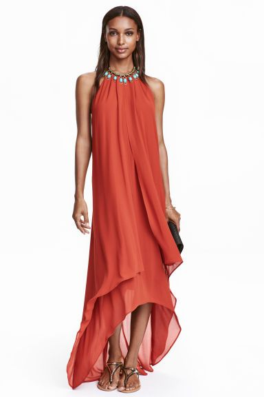 Halterneck maxi dress | H&M