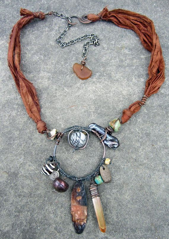 Tribal Talisman Necklace by stacilouise