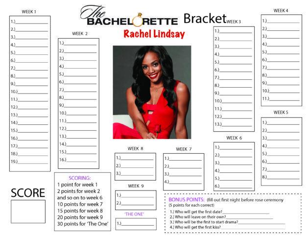 The Bachelorette Bracket: Rachel Lindsay