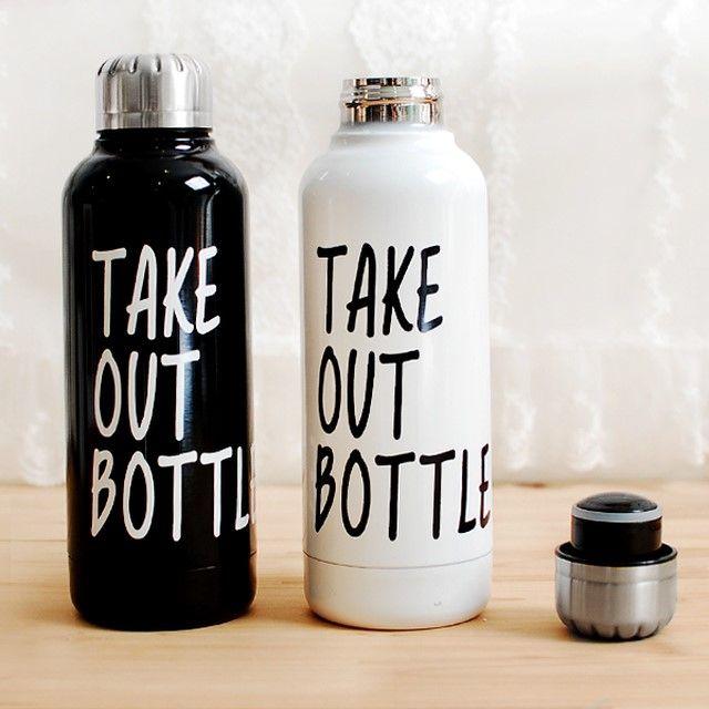 tobe 테이크아웃 보온병 : 원더랜드 #bottle