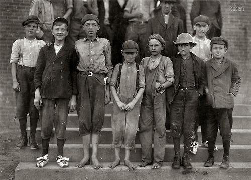 Child labor at the Loray Mills, Gastonia North Carolina...1912.