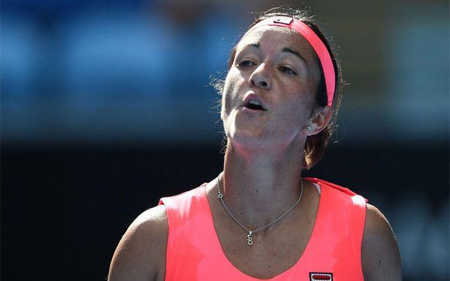 Silvia Soler-Espinosa. Muy buen partido en Melbourne frente a Errani en segunda ronda.