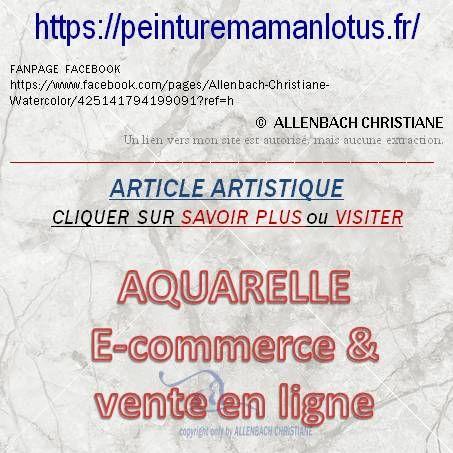 ART E-Commerce & vente en ligne ALLENBACH CHRISTIANE http://peinturemamanlotus.fr/?p=36753