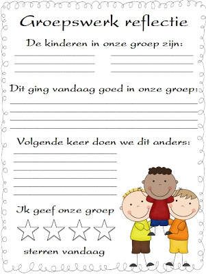 Reflectie voor groepswerk