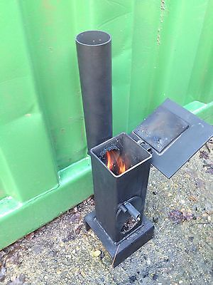 A nice variation to consider when building a rocket stove...