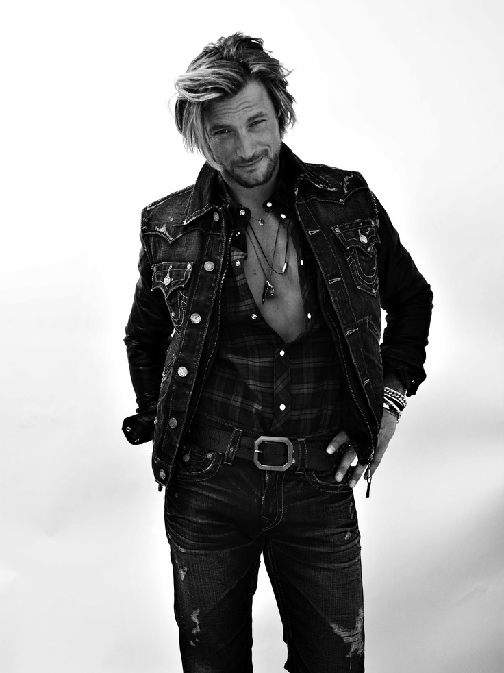Gabriel Aubry for True Religion.