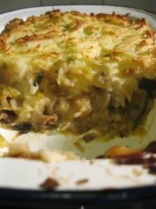 nigel slater's leek and mushroom cottage pie