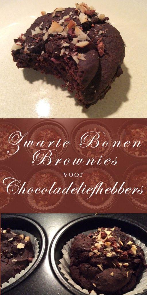 Zwarte Bonen Brownies voor Chocoladeliefhebbers