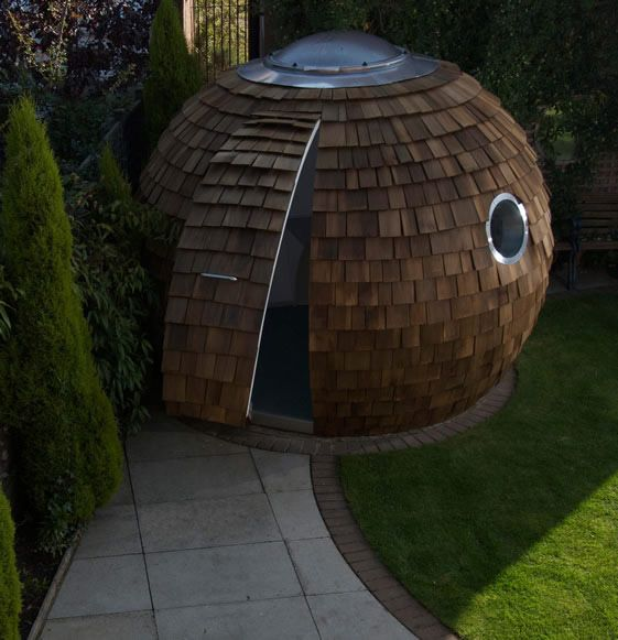 amazing small house design ball shaped has big on function - Garden Design Trends 2014