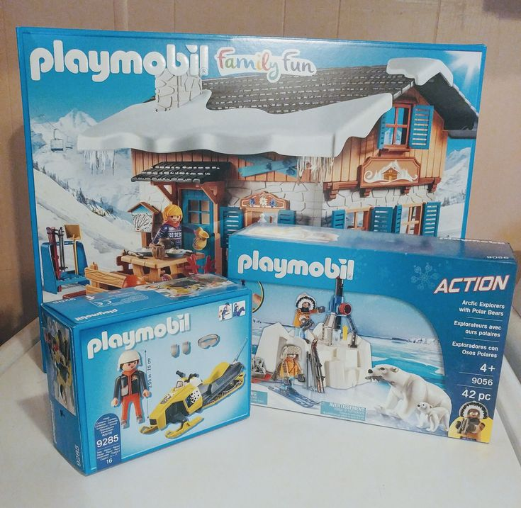 winter themes from playmobil