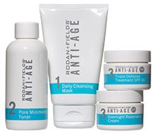 Rodan + Fields Anti-Age Regimen. This has changed my life.  My skin absolutely loves this product.
