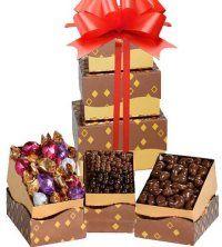 Godiva Chocolate Tower .... La Tour Godiva - un cadeau à offrir à un amateur de chocolats fins.