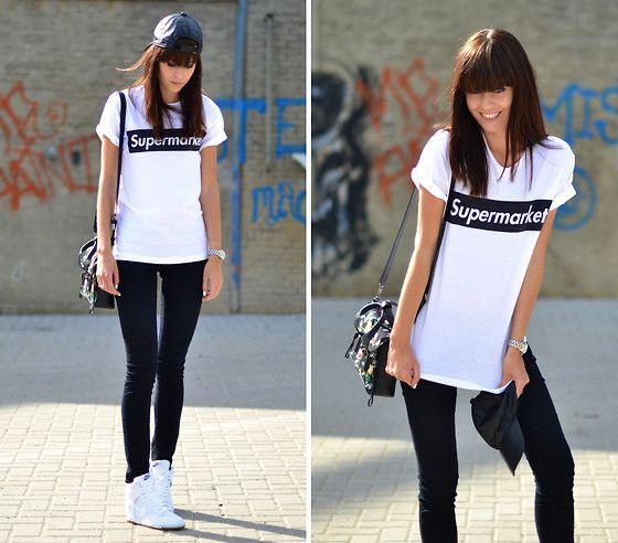 Nike Sky High Dunks, Supermarket T Shirt, 3.1 Phillip Lim Bag