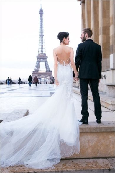 Photo Captured by Audrey from One and Only Paris Photography via Wedding Chicks - Lover.ly