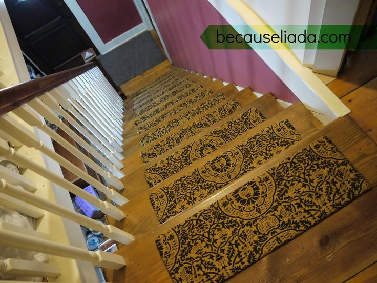 Make Your Own Carpet Stair Treads Carpets Carpet Stairs