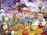 Играть в игру Микки Маус на Хэллоуин: Сортируй плитки бесплатно на PLAYONLINE. Микки Маус и его друзья обожают Хэллоуин. Они долго готовили свои костюмы, чтобы весело провести это удивительное время.