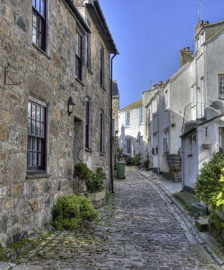 Virgin Street, St Ives, Cornwall, England