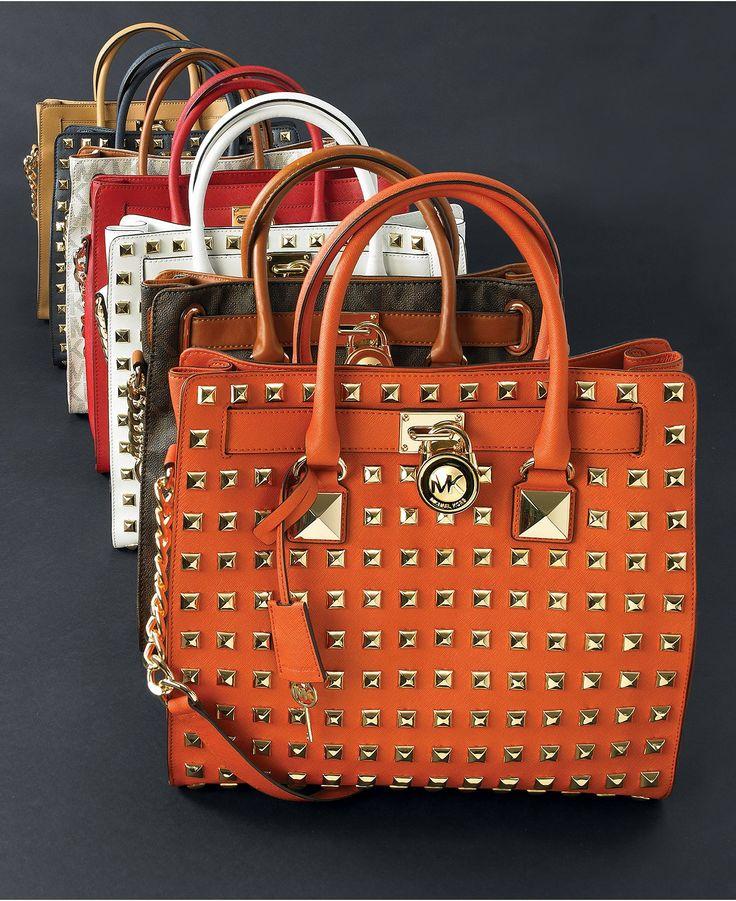 MICHAEL Michael Kors Hamilton Totes - All Handbags - Handbags \u0026 Accessories  - Macys