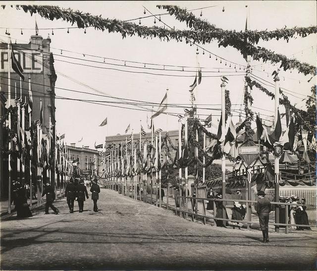Federation celebrations,1901 Sydney by State Records NSW, via Flickr