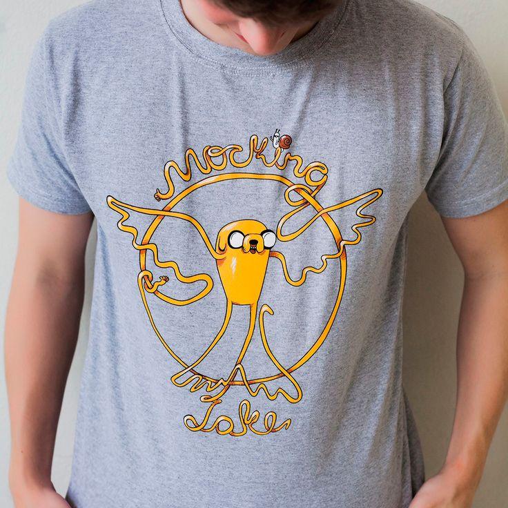 Camiseta MockingJake - Masculina