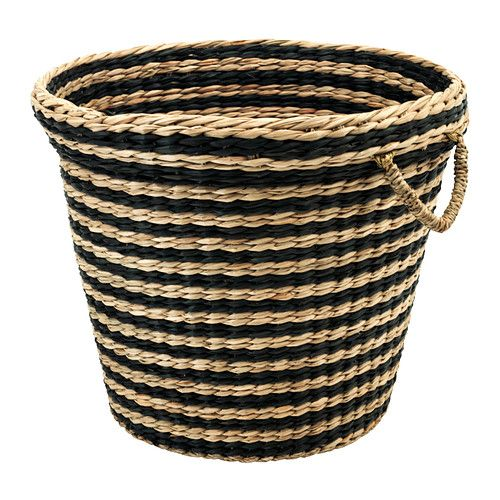 MAFFENS Basket IKEA Each Basket Is Woven By Hand And Is Therefore Unique.