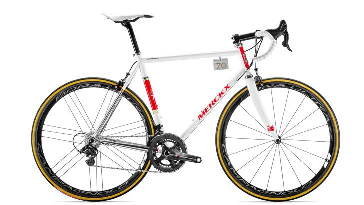 Eddy Merckx Releases Limited-Edition Steel Racing Frame | Bicycling