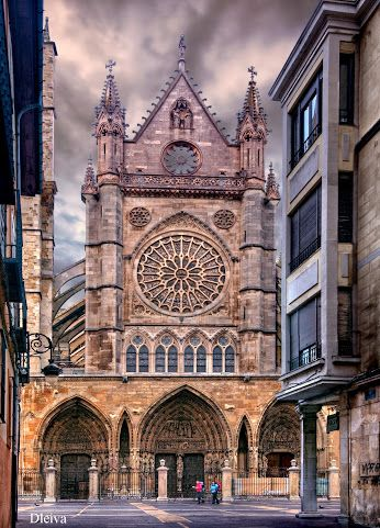 León Cathedral, Castilla-León. Spain