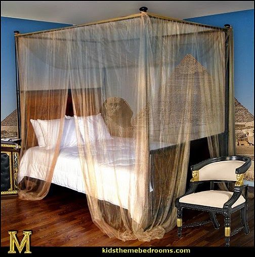 Egyptian Themed Rooms | ideas - Egyptian theme decor - Egyptian furniture…