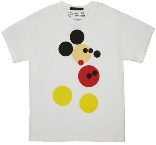 Le t-shirt Mickey signé Damien Hirst pour Kids Company