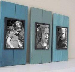 Leuke lijst met een blue-wash topping. www.outlet-steigerhout.nl