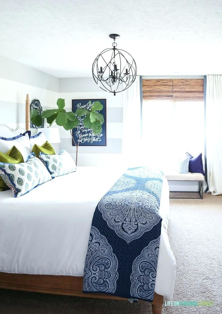 Blue White Bedroom Ideas Stunning Green Bedding And Curtains