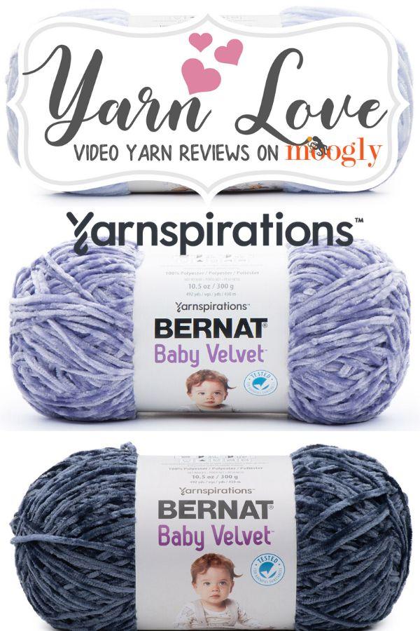 Bernat Baby Velvet Yarn Love Video Yarn Review Yarnspirations