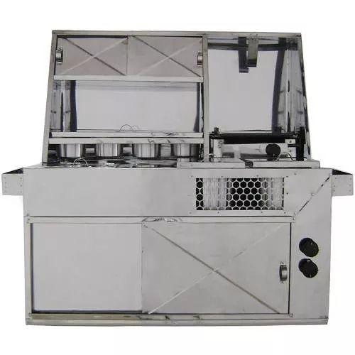 kit cachorro quente p/ towner fiorino c geladeira, hot dog