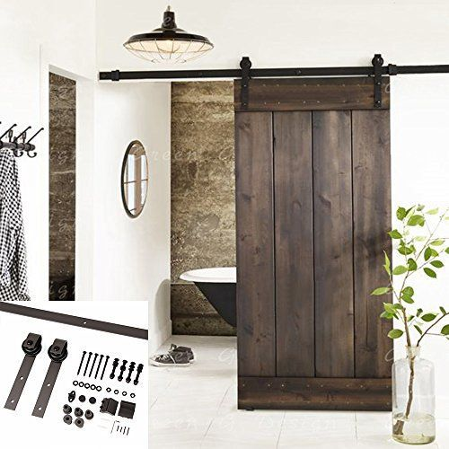 20 Sliding Barn Door Ideas that you will fall in love with! So many different ways to add a rustic vibe to your home or add character!
